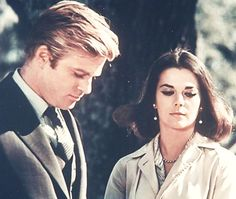 Robert Redford and Natalie Wood on the set of This Property is Condemned (1967).