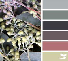 berried tones