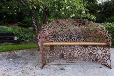 lavicka na zahradu Outdoor Furniture, Outdoor Decor, Bench, Garden, Projects, Photography, Design, Home Decor, Art