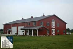 pole barn with house on top - Google Search