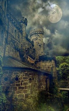 Medieval Wilhelmshöhe Castle, Kassel, Germany