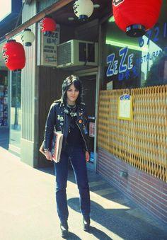 Joan Jett, LA, 1977
