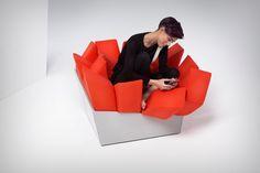 Like a beanbag, but much cooler! | Yanko Design