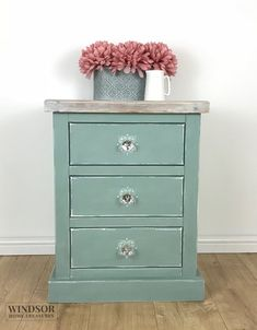 Bedside Table, Painted Side Table, Painted Bedside Table, Small Chest of Drawers, Painted Drawers, Painted Chest of Drawers, Side Table