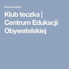 Klub teczka | Centrum Edukacji Obywatelskiej