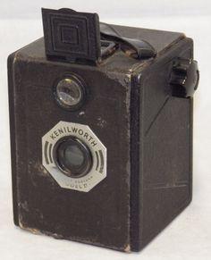 Vintage Kenilworth Model II Box Camera w/ Case