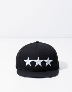 ae7c79c5678 Star visor cap. Discover this and many more items in Bershka with new  products every
