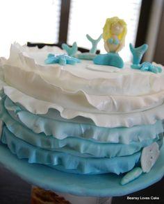 Mermaid Ombre Cake