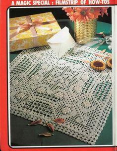 Kira scheme crochet: Scheme crochet no. 1410