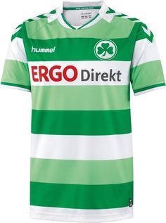 Hummel Greuther Fürth 14-15 Home and Away Kits Released - Footy Headlines
