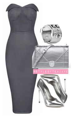 """""""Untitled #1980"""" by stylebyteajaye ❤ liked on Polyvore featuring Casadei, ESPRIT and Hermès"""