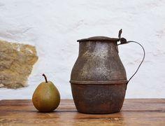 Pot Français rustique décor ancien Broc