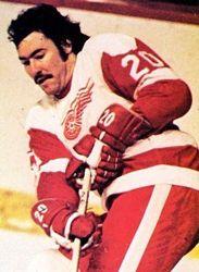 Mickey Redmond, Detroit Redwings, 1971 - 1976, Sweater Number: 10