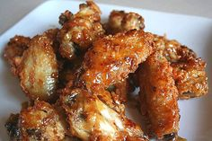 Crispy Wings With Sweet Ginger Glaze | Best Food Recipes Online