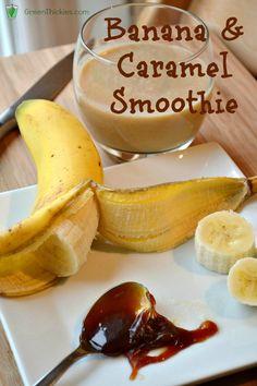 Banana and Caramel Smoothie