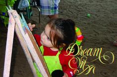 Lettering / Dream On.