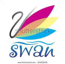 Image result for swan silhouette