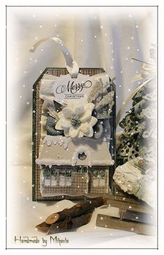 Handmade by Mihaela: Christmas landscape