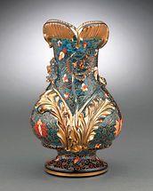 Moser Persian Glass Vase