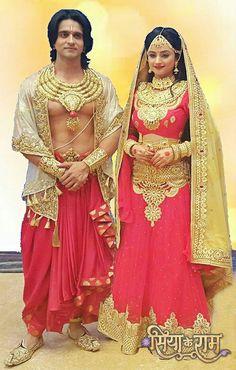Indian Star, Indian Gods, Indian Wedding Photography, Photography Couples, Indian Wedding Jewelry, Bridal Jewellery, Siya Ke Ram, Ballroom Costumes, Durga Goddess