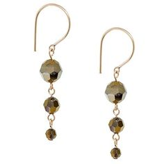 Vintage Shine Earrings | Fusion Beads Inspiration Gallery