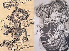 Tattoo inspiration - dragon tattoo