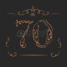 évforduló 70 jelek a kalligráfia stílus sablon az évforduló születésnap és jubileumi emblémák száma  Stock fotó