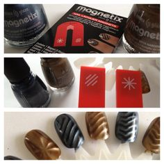 So this is how they get those shapes. Magnetix - China Glaze, Can Be Bought at Sally Beauty Supply