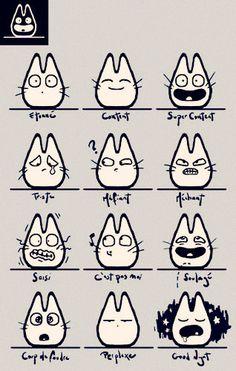 cute emote stamps