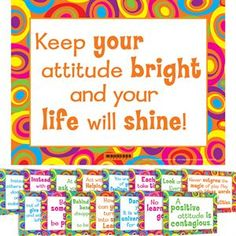 Thoughts Of The Week Mini Posters by Really Good Stuff Inc Classroom Posters, Classroom Themes, Classroom Activities, Character Activities, Character Education, Counseling Bulletin Boards, School Counseling, Classroom Behavior Management, Behaviour Management