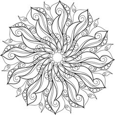 """Paris, France is known as the """"City of Lights"""". Paris adopted gas street lighting in the making it one of the first European cities to do so. Mandala Coloring Pages, Coloring Pages To Print, Coloring Book Pages, Colouring Pics, Coloring Sheets, Mandala Drawing, Mandala Painting, Mandala Art, Mandala Design"""
