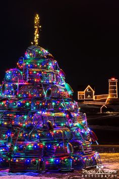 Maine Christmas Tree, Cape Neddick Lighthouse To see more of my images, purchase prints, or arrange for stock licensing, visit www.dawnamoorephotography.com. If you like this image, please share it with your friends!