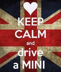 Keep Calm and drive a #Mini with #RacingDynamics accessories!