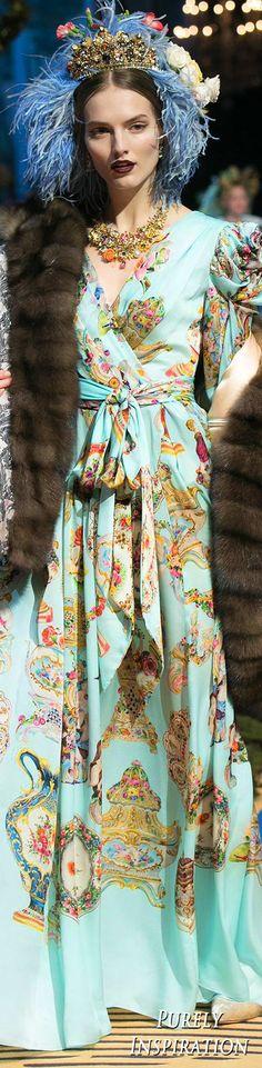 Dolce & Gabbana Alta Moda Collection FW2017 | Purely Inspiration