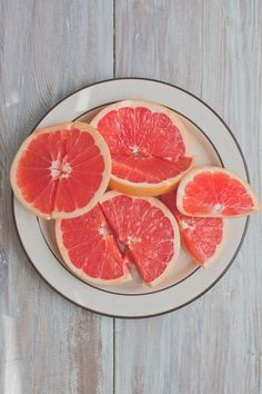 Grapefruit is a super healthy snack, and pretty, too! #ingredientmonth