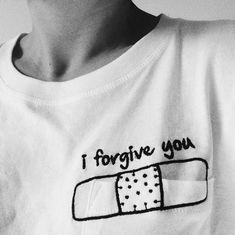 """""""I forgive you· #tee http://instagram.com/mercedeshey"""