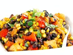 Get this all-star, easy-to-follow Black Bean, Corn and Tomato Salad recipe from Giada De Laurentiis