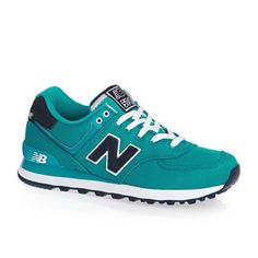 Details about New Balance Wl574 Womens Trainers Shoes - Aquamarine