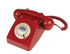 Gifts : Telephone Red