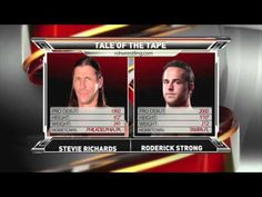 ROH TV Title Match Stevie Richards vs Roderick Strong - YouTube