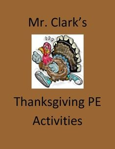 Thanksgiving PE Activities