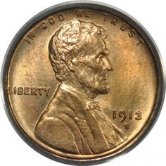 Eagle Eye Rare Coin has this item on Collectors Corner - 1913-S 1C MS64RD PCGS