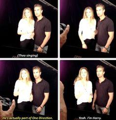 Theo James ( Tobias ) & Shailene Woodley  ( Tris ) // Divergent