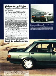 1982 Ford Granada 2.8 injection (Germany) p2 by IFHP97, via Flickr