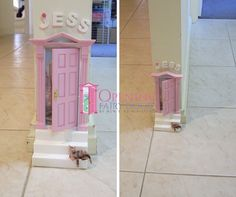 Opening Fairy Door and Fairy Stairs. Australian made Opening Fairy Doors, Fairy Door Accessories, Beautiful Hands, Stairs, Kids, Handmade, Crafts, Home, Decor