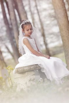 Ebby's First Communion Photo By Holly Fowler