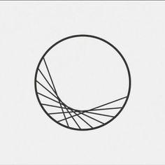 Geometric Circle, Geometric Logo, Geometric Designs, Geometric Shapes, Logo Design, Design Art, Web Design, Doodle Drawing, Painting & Drawing