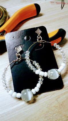 Jewelery, Jewelry Design, Beaded Bracelets, Nice, Earrings, Handmade, Crafts, Bijoux, Ear Rings