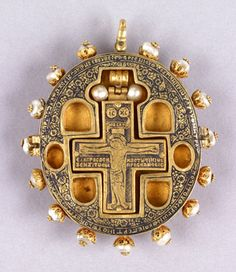 Reliquary Pendant, Greece, 16th century
