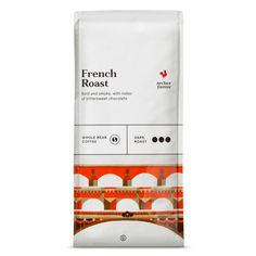 French Dark Roast Whole Bean Coffee - 12oz - Archer Farms